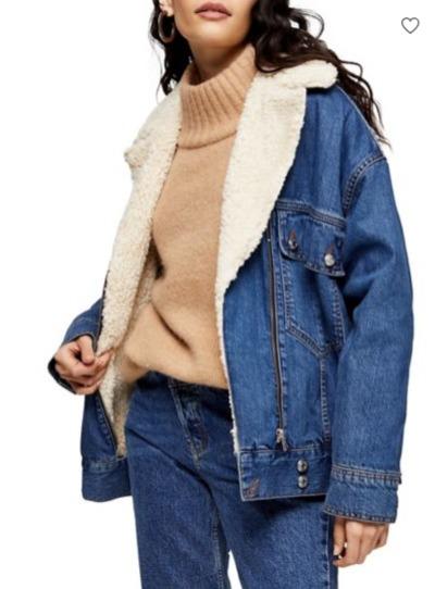Topshop 春季牛仔夹克、机车夹克、风衣、保暖服 7折优惠!