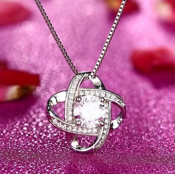 J.Rosée 永不分离 纯银项链14.99加元,原价 38.99加元