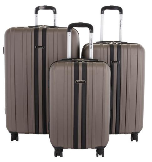 Samsonite Spectacular 硬壳拉杆行李箱 3件套 279.99加元(2色),原价 599.99加元,包邮