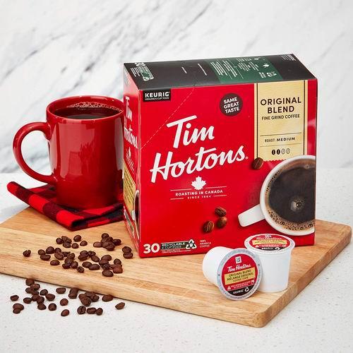 Tim Hortons 咖啡胶囊 16.09加元(4种可选,30粒),原价 19.87加元
