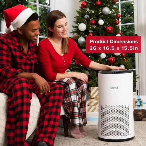 LEVOIT 538平方英尺家用空气净化器 7.3折254.99加元限量特卖并包邮!