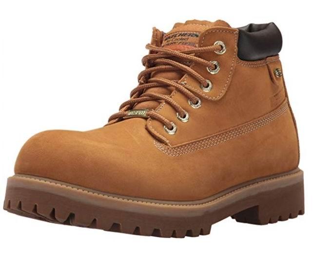 Skechers Sergeants - Verdict 男士时尚黄靴 53.5加元(9码),原价 145加元,包邮
