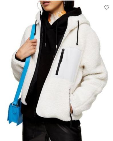 Topshop 春季牛仔夹克、机车夹克、风衣、保暖服 5折 15加元起优惠!封面款53加元