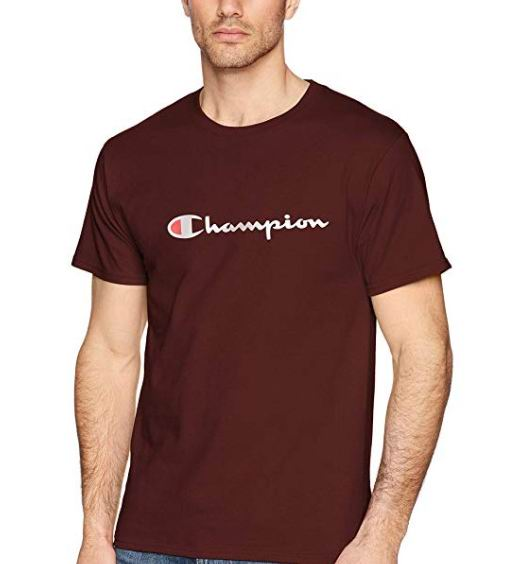 Champion 男士经典T恤 16.19加元(S码),原价 25.99加元
