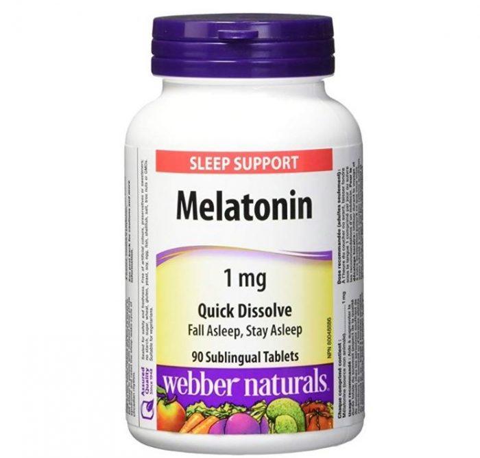 历史新低!Webber Naturals Melatonin 速效褪黑素90粒装 4.92加元包邮!