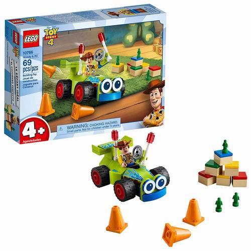 LEGO 乐高 10766胡迪和玩具车 9加元,原价 13.99加元