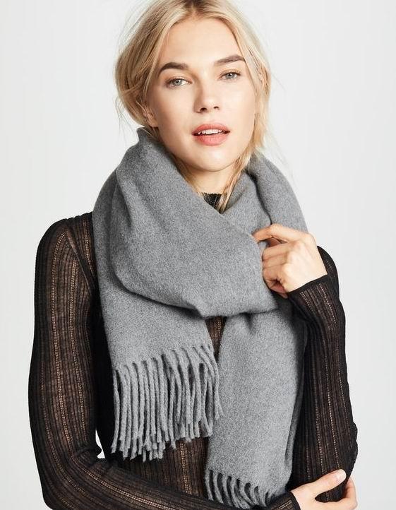 Acne Studios Canada 纯色羊毛围巾 200加元+包邮,多色可选