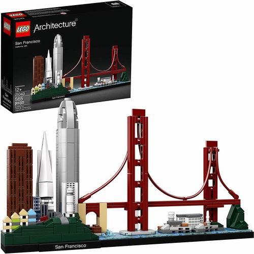 LEGO 乐高 21043  经典建筑系列 旧金山 59.99加元,原价 69.99加元,包邮