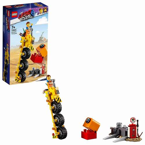 LEGO 乐高 70823 大电影2 艾米特的三轮自行车 14加元,原价 19加元