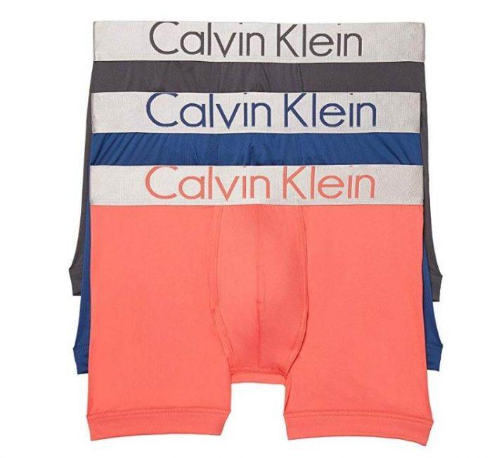 Calvin Klein Steel Micro 男士平角内裤3件 39.19加元起,原价 68加元,包邮