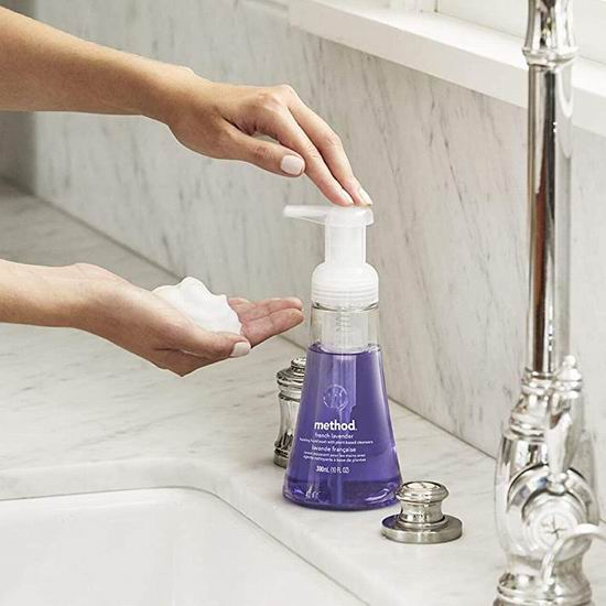 Method 纯天然成分 清香泡沫洗手液(10盎司×6瓶) 18.5加元!
