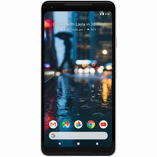 金盒头条:历史新低!翻新 Google Pixel 2 XL 64gb 6英寸解锁版智能手机 249.99加元包邮!