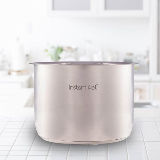 Instant Pot 电压力锅专用 6夸脱 不锈钢内胆 24.96加元!另有8夸脱内胆28.53加元!一锅变两锅!