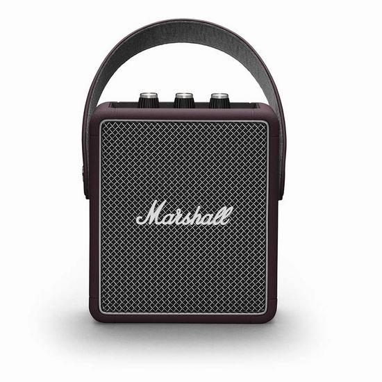 Marshall 马歇尔 Stockwell II 限量版 便携式蓝牙音箱 6.9折 207.66加元包邮!