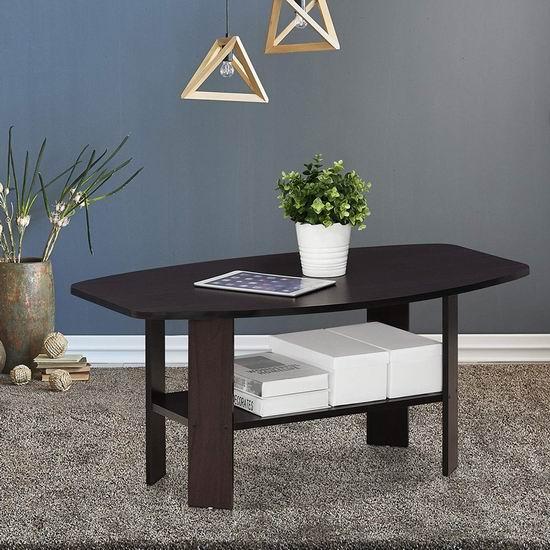 历史新低!Furinno 11179DWN Simple Design 咖啡桌/茶几 47.28加元包邮!