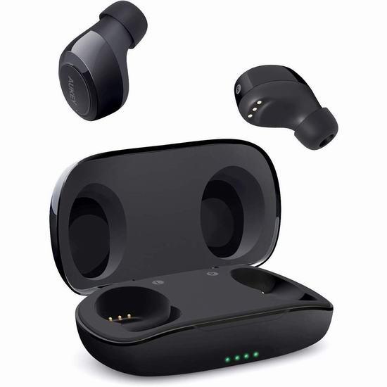 历史新低!AUKEY 真无线 蓝牙耳机 29.99加元包邮!2色可选!