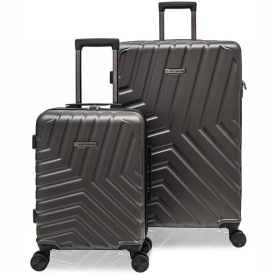 白菜价!Air Canada Infinite 时尚拉杆行李箱2件套(19/27寸)2.1折 119.99加元包邮!2色可选!