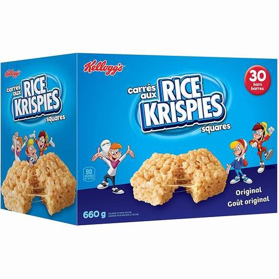 Kellogg's Rice Krispies 米花糖/脆米饼(660克)2.77加元起