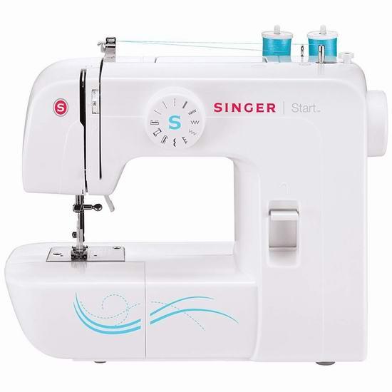 Singer 胜家 1304 电动缝纫机 119.99加元包邮!