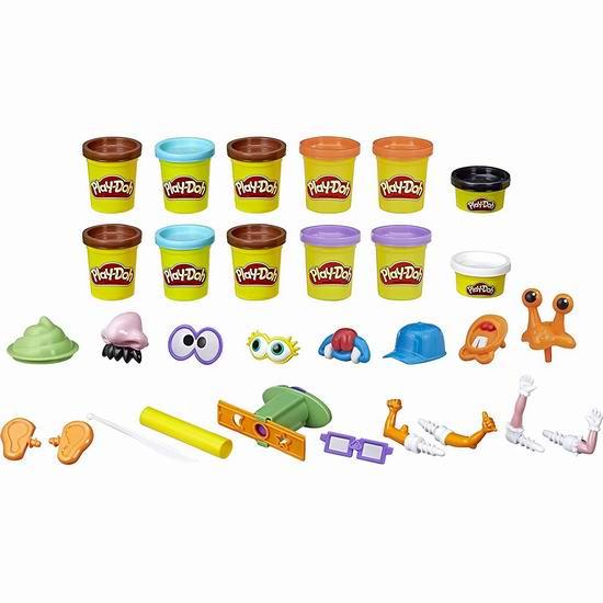 Play-Doh 培乐多 Poop Troop 便便怪物 橡皮彩泥套装5折 9.97加元!