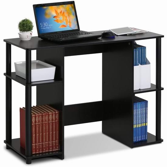 历史新低!Furinno 15112EXBK Jaya 书桌/电脑桌 62.9加元包邮!