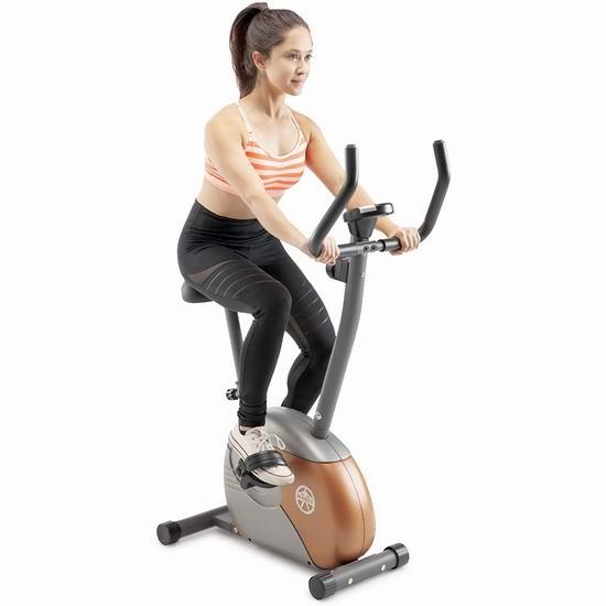 Impex Marcy ME708 立式健身自行车 179.38加元包邮!