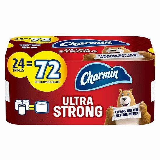 Charmin Ultra Strong 超强双层卫生纸24卷装 19.34加元!