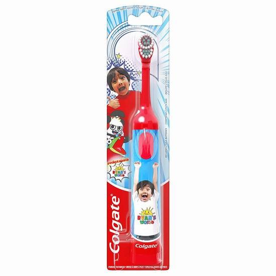 Colgate 高露洁 儿童电动牙刷4.2折 3.49加元!