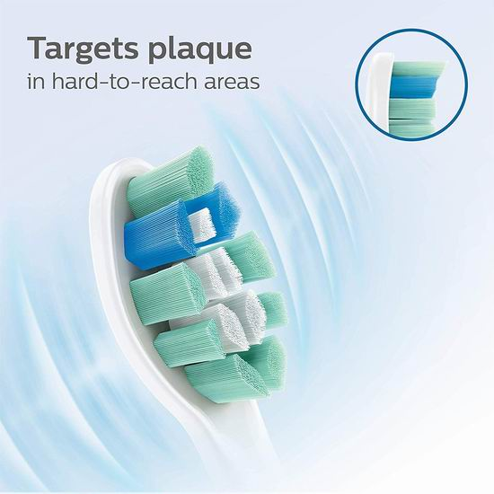 Philips 飞利浦 Sonicare Optimal HX9023/92 牙菌斑防御型 电动牙刷刷头3件套6.4折 25.56加元包邮!