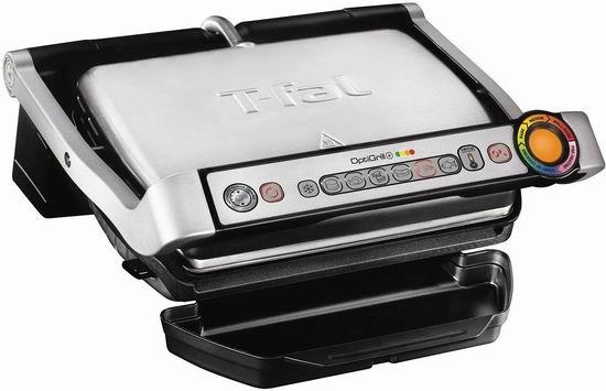历史最低价!T-fal GC712D54 Optigrill+ 室内不锈钢电烤炉4.8折 119.99加元包邮!