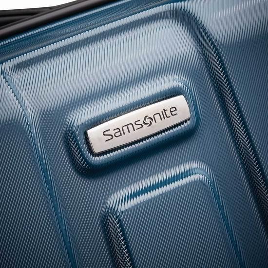 近史低价!Samsonite 新秀丽 Centric 20/24/28寸 全PC超轻 拉杆行李箱3件套 262.12加元包邮!