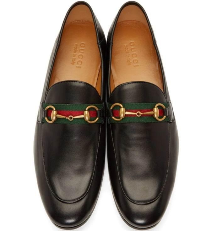 男生必备 超百搭鞋款!Gucci Horsebit 男士马衔扣乐福鞋 785加元,官网价 910加元,包邮