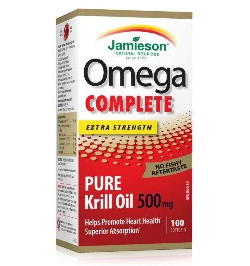 Jamieson 健美生Omega  虾青素-磷虾油 15.19加元,原价 27.19加元