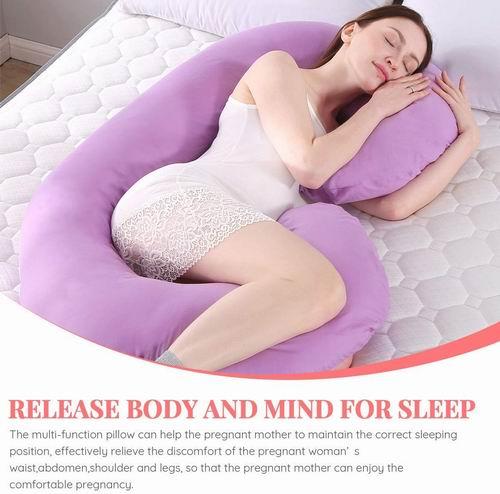 MINGPINHUIUS  U型身体支撑枕/孕妇身体枕 49.99加元+包邮!