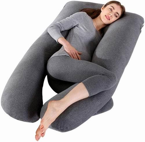 MINGPINHUIUS  U型身体支撑枕/孕妇身体枕 2.8折 69.99加元,原价 249.99加元,包邮