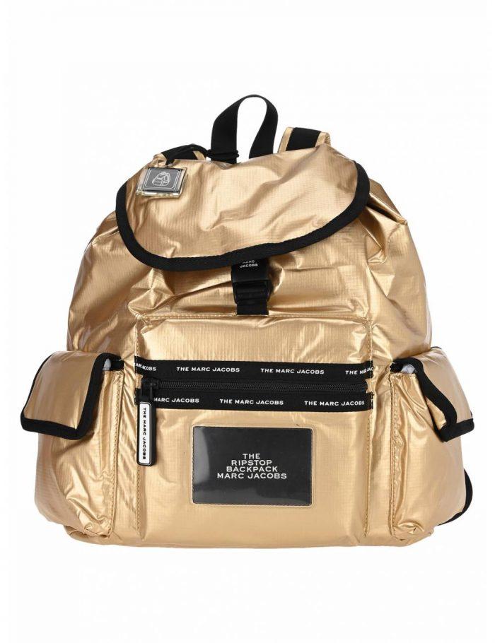 Marc Jacobs Ripstop金色款 尼龙双肩包 7折 231加元,原价 330加元,包邮
