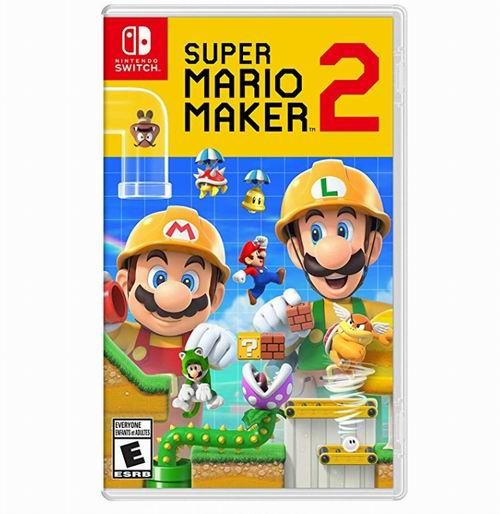 《Super Mario Maker 超级马力欧创作家 2》Nintendo Switch 标准版 54.99加元包邮!