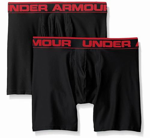Under Armour男士O系列平角裤 2件套 18.88加元,原价 39.99加元