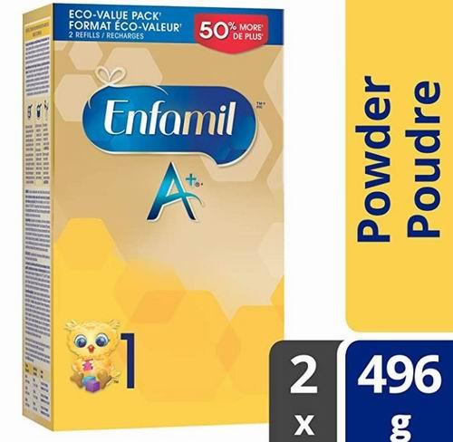 Enfamil A+ 婴儿配方奶粉、配方液体奶 9.48加元起