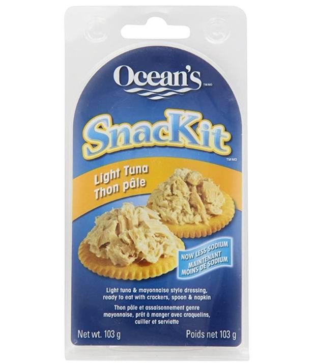 Ocean's 即食金枪鱼/吞拿鱼饼干套装  1.99加元