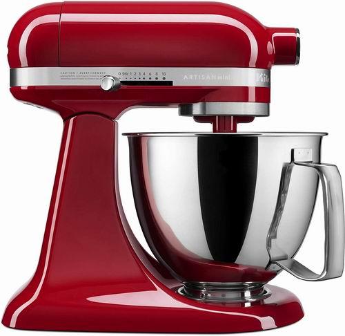 历史最低价!KitchenAid KSM3316XER 家用厨师机 多功能全自动搅拌机 5.3折 249.99加元(2色),原价 479.99加元,包邮