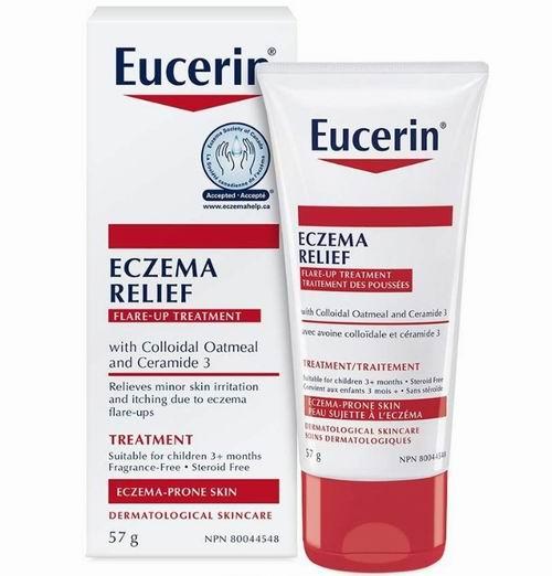 EUCERIN Eczema 湿疹即时缓解霜 12.49加元,原价 15.47加元