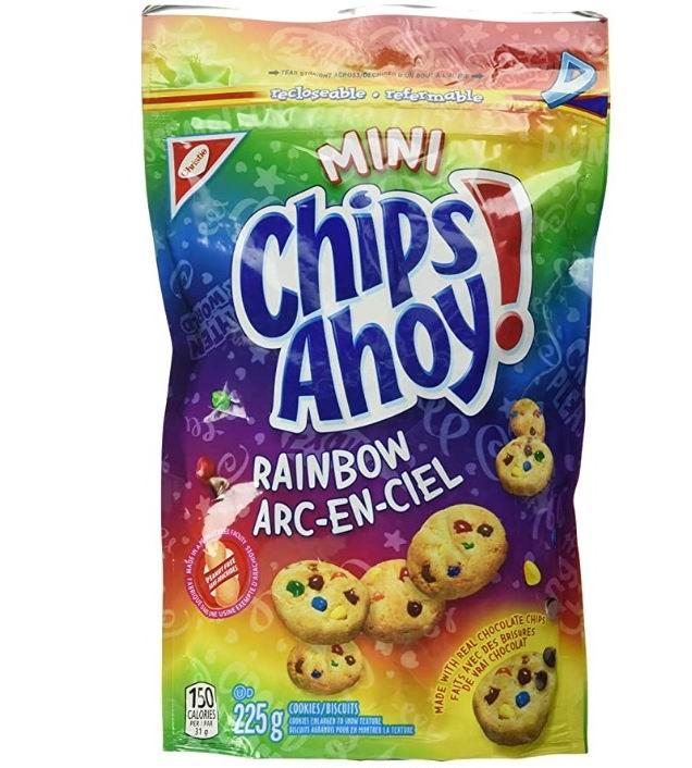 Chips Ahoy迷你彩虹饼 2加元