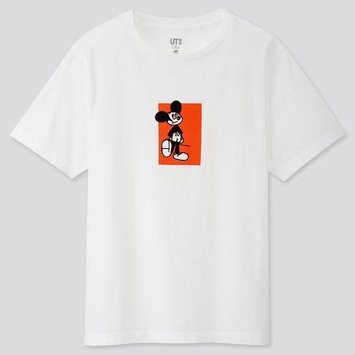 精选 Uniqlo 迪士尼米奇系列 男女T恤 12.9加元