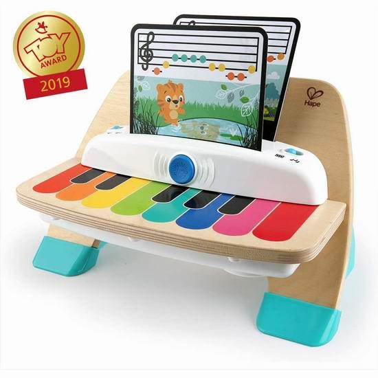 历史新低!Baby Einstein Magic Touch 智能触控电子琴 20.97加元!另有多款宝宝益智玩具7.17加元起!支持次日送达!