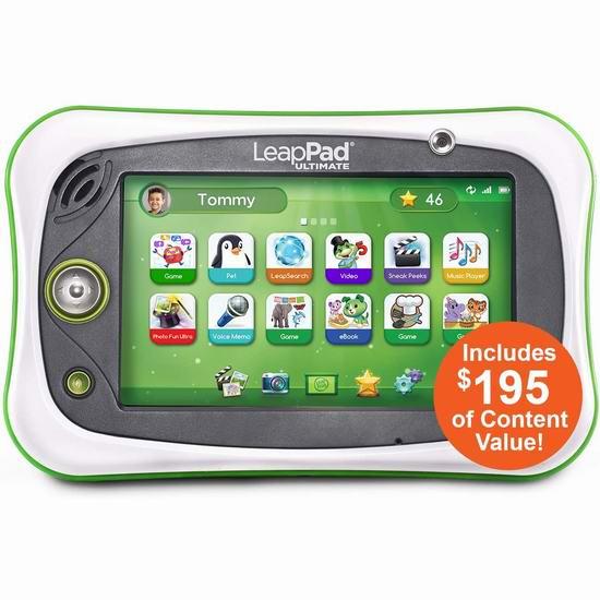 LeapFrog 跳蛙 LeapPad Ultimate 儿童早教学习平板电脑 109.97加元包邮!支持次日送达!