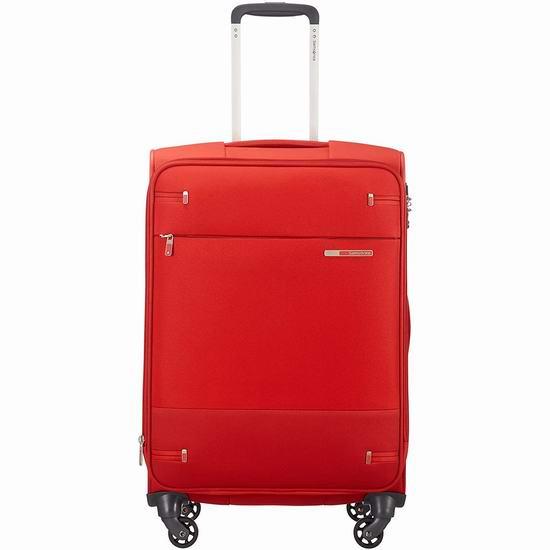 白菜价!历史新低!Samsonite 新秀丽 Base Boost 26寸 软壳可扩展拉杆行李箱2折 75加元包邮!