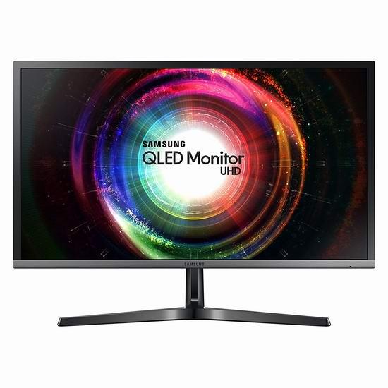 补货!历史新低!Samsung 三星 LU28H750UQNXZA 28英寸 QLED 4K超高清 Free-Sync 显示器 298加元包邮!