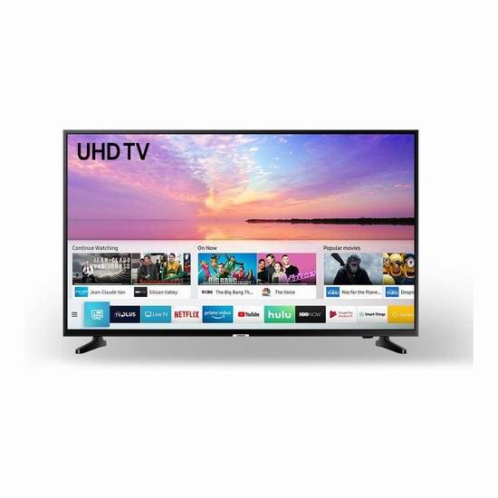 历史新低!Samsung 三星 UN50NU6900FXZC 50英寸 4K超高清 智能电视 6折 418加元包邮!