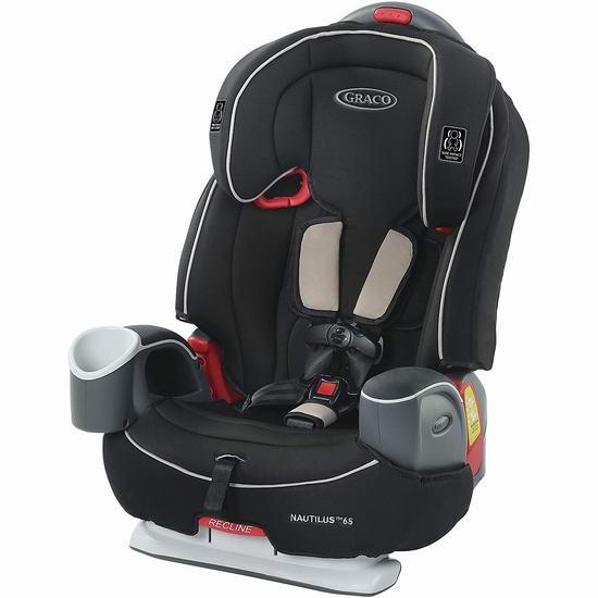 历史最低价!Graco Nautilus 65 3合1 成长型 儿童安全座椅 199.97加元包邮!